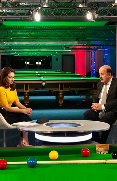 Presenter <br>BBC Snooker Welsh Open