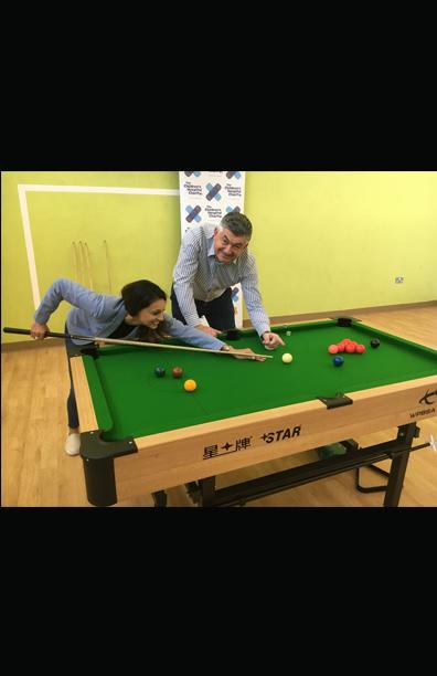Presenter <br>BBC World Snooker Championship